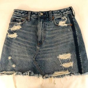 Abercrombie & Fitch Denim Skirt